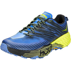 Hoka One One Speedgoat 4 Wide Schuhe Herren black iris/evening primrose